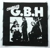 Charged G.B.H. - 'Band' Printed Patch